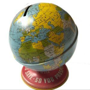 Vintage Globe World Bank